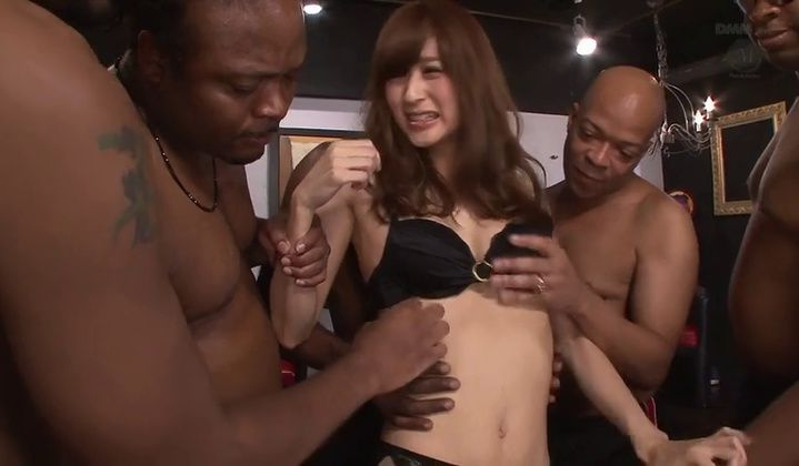 Ass - Asian Babe Gangbanged By Bbcs